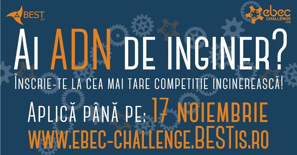 Etapa locală EBEC Challenge Iași