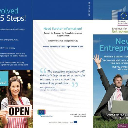 """Info Day """"Be an Erasmus Entrepreneur"""" Iași"""